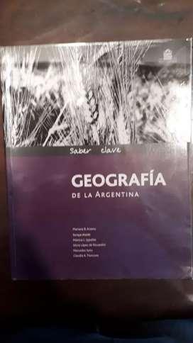 Geografía de la Argentina santillana