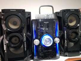 Equipo de Sonido Panasonic SA-AKX72