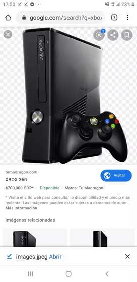 VENDO XBOX 360 SLIM USADA (COMO NUEVA ) MAS DE 30 JUEGOS  Y 2 JOSTING