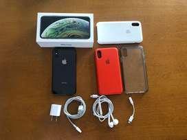 Vendo iPhone XS negro de 64 gb liberado en excelentes condiciones!