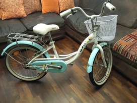 Bicicleta verde agua aro 20