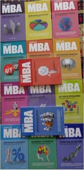 """COLECCIÓN """"CURSO DE MBA"""" Lo que enseñan los mejores MBA"""