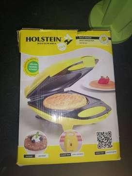 gran oferta!mini waflera-crepera multi-función holstein nueva