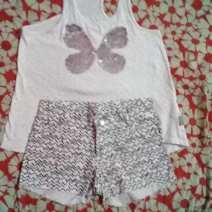 Short y musculosa Mimo talle 8 0