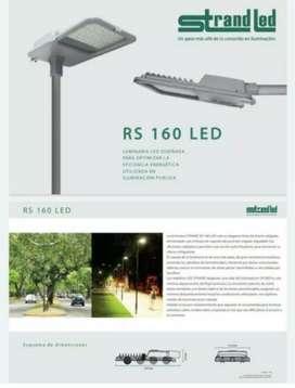 """Luminaria LED """"STRAND"""" con fotocelula"""