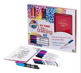 Set Marcadores My First Kit Lettering Spektra X 9und Plumone