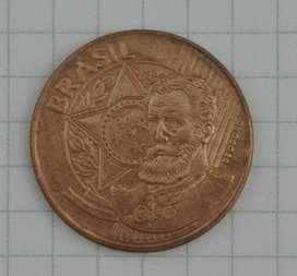 Moneda Brasil 25 Centavos (2009)