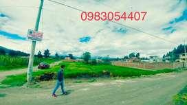 Se vende 3 hermosos lotes de terrenos 511m2 en el sector de San Andres - Riobamba