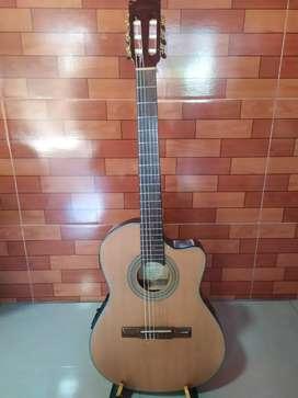 Guitarra acústica amplificada Ibáñez
