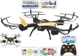 Drone Wifi Camara Hd Facil Manejo, Incluye Control Remoto, Nuevos...