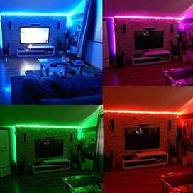 Cinta Luz Led 5 Metros Multicolor Con Control