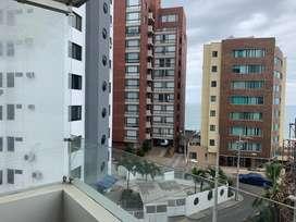 Alquiler o Renta  lujoso departamento vista al mar en Manta, cerca al Mall del Pacifico