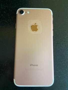 Iphone 7 de 32 gb color rosado