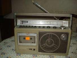 Radiograbador Sony Cfm 238 De Los 80s Funciona Todo!