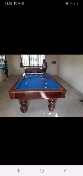 Venta de Billas/ futbolines/ mesas de poker/ mesas de ping pong.