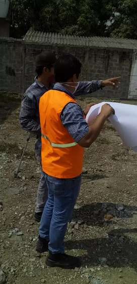 Topógrafo ingenieron