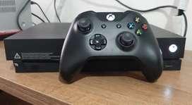 Xbox One X con un mando + 6 meses de Game Pass Ultmate