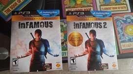 Videojuegos Infamous 1 y 2 para PlayStation 3 Venta/Cambio