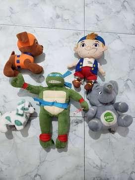 Lote de juguetes, los 5 por 10mil