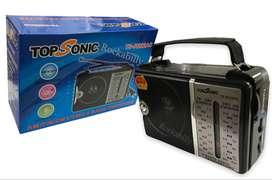 Radio Multibandas Topsonic Am-fm Eléctrico Ts-r222ac