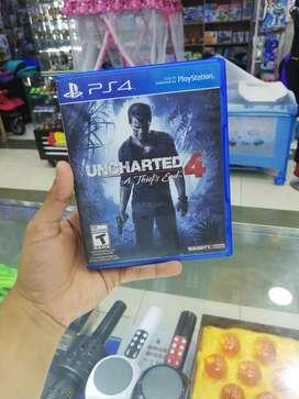 Juego play 4 ps4 full uncharted 4 vendo o recibo juegos en parte de pago estoy en Palmira  envíos a todo el país