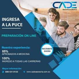 Curso Ingreso Universidad Católica Quito