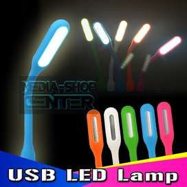 Luz Led Lampara Notebook Portatil Flexible Usb Linterna Tribunales