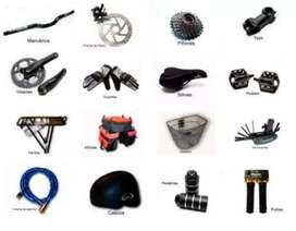 Accesorios y venta de bicicletas