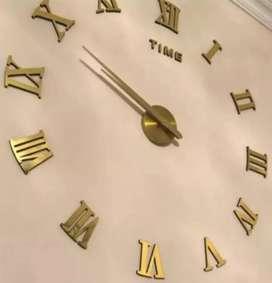 Reloj de pared grande 3d, tamaño mediano 70 x 70 c.m