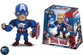 Metals Die Cast Captain America (m56) - (jr2)