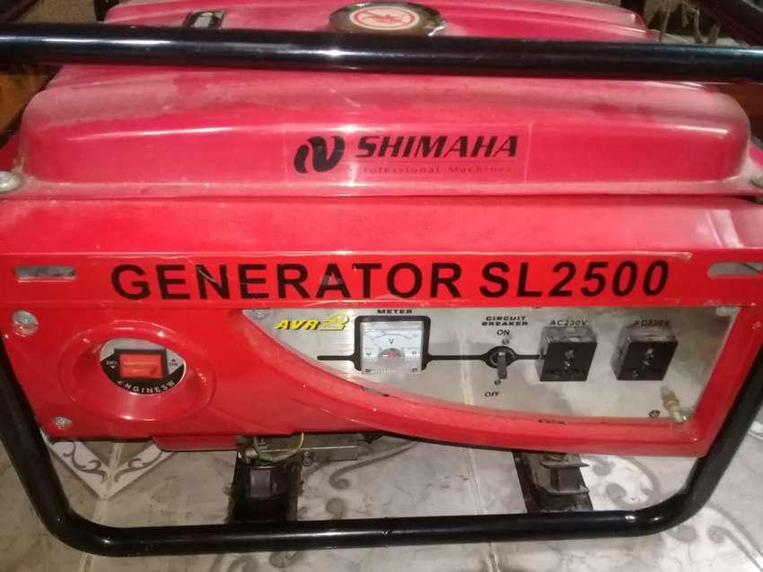 Generador Shimaha SL2500 Usado 0