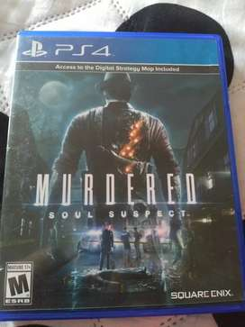 Juego ps4 murdered