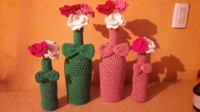 Centros de mesa  a crochet 0