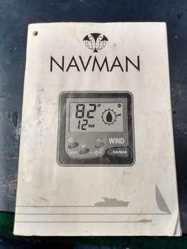 Manual anemómetro Navman