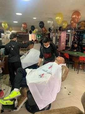 Se busca auxiliar de barberia