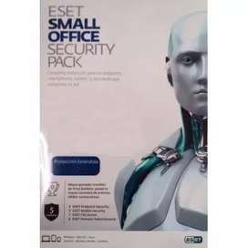 Antivirus Eset Small Office Security Pack 5 Licencias 12 Meses