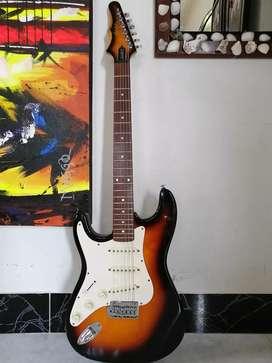Guitarra eléctrica epiphone gibson stratocaster zurda surda korea para surdo zurdo