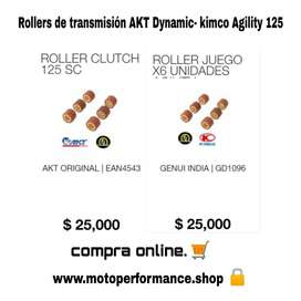 Rollers Clutch Agility 125