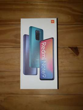 Xiaomi Redmi Note 9 64gb dual Sim (nuevo)