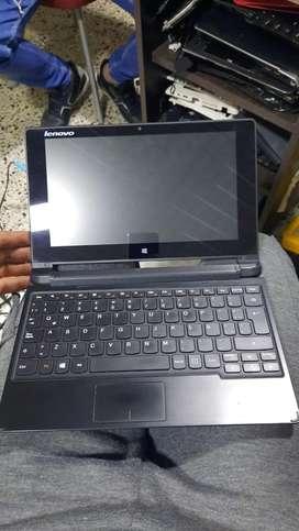 Lenovo flex touch, pequeño liviano y facil de llevar
