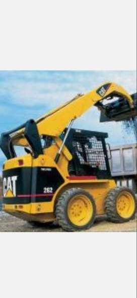 Alquiler de minicargador Cat 262 luye operador I a 90 la hora incluye operador I combustible mi numero es99*13*4*0*37*4