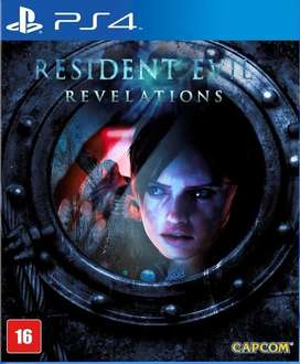 Video Juego Ps 4 RESIDENT EVIL REVELATIONS Play Gamer Consola
