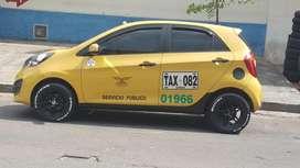 Taxi Kia 2013 con cupo metropolitano