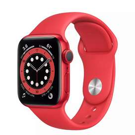 Apple Watch Series 6 (GPS) 40 mm Red Aluminum
