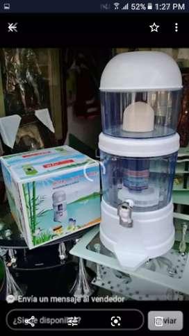 Filtro pirificador de agua 14 litros  nuevos por mayor y detal