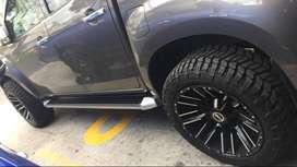 ESTRIBOS CHEVROLET DMAX 16+ INCLUYE INSTALACION REPUESTO AUTO