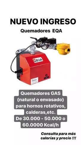 Quemadores a gas o gasoil para hornos rotativos