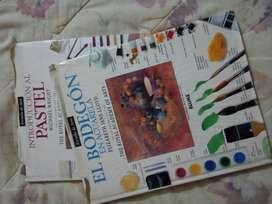 Introducción al Pastel y El Bodegón en Acuarela