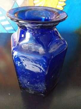 Florero antiguo cristal