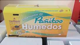 Dispensador de pañitos humedos